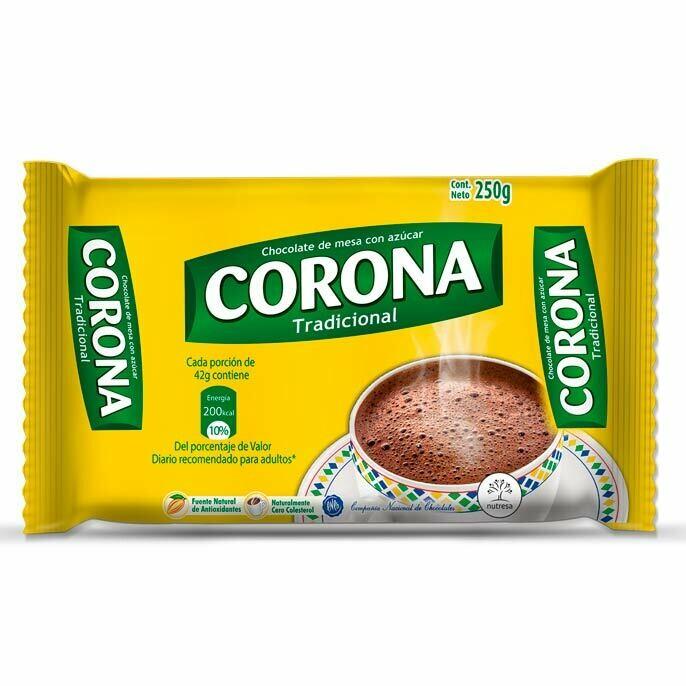 CHOCOLATE CORON TRADICIONAL 250g