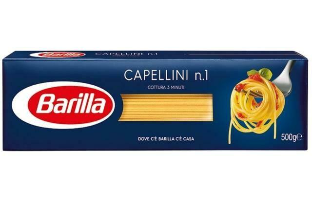 SPAGHETTI CAPELLINI N.1 BARILLA 500g