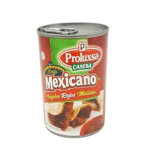 FRIJOLES ROJOS MOLIDOS ESTILO MEXICANO PROLUXSA 285g