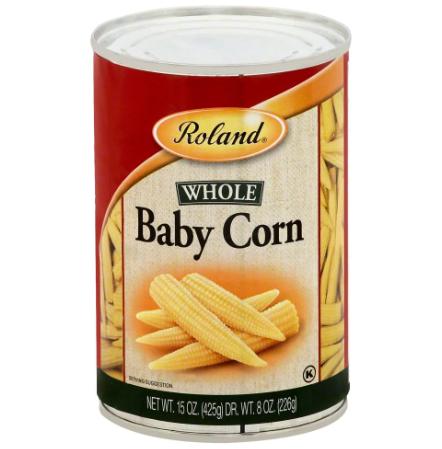BABY CORN ROLAND 226g