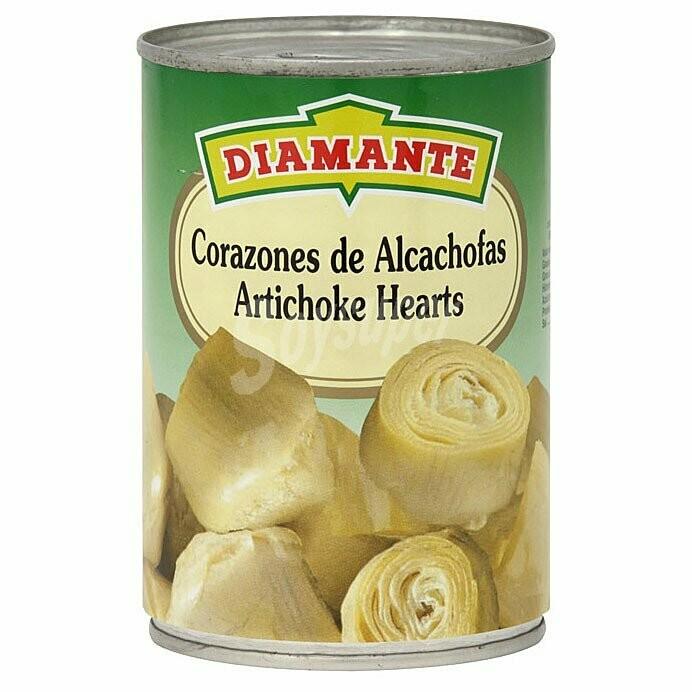 CORAZONES DE ALCACHOFAS AL NATURAL DIAMANTE 390g