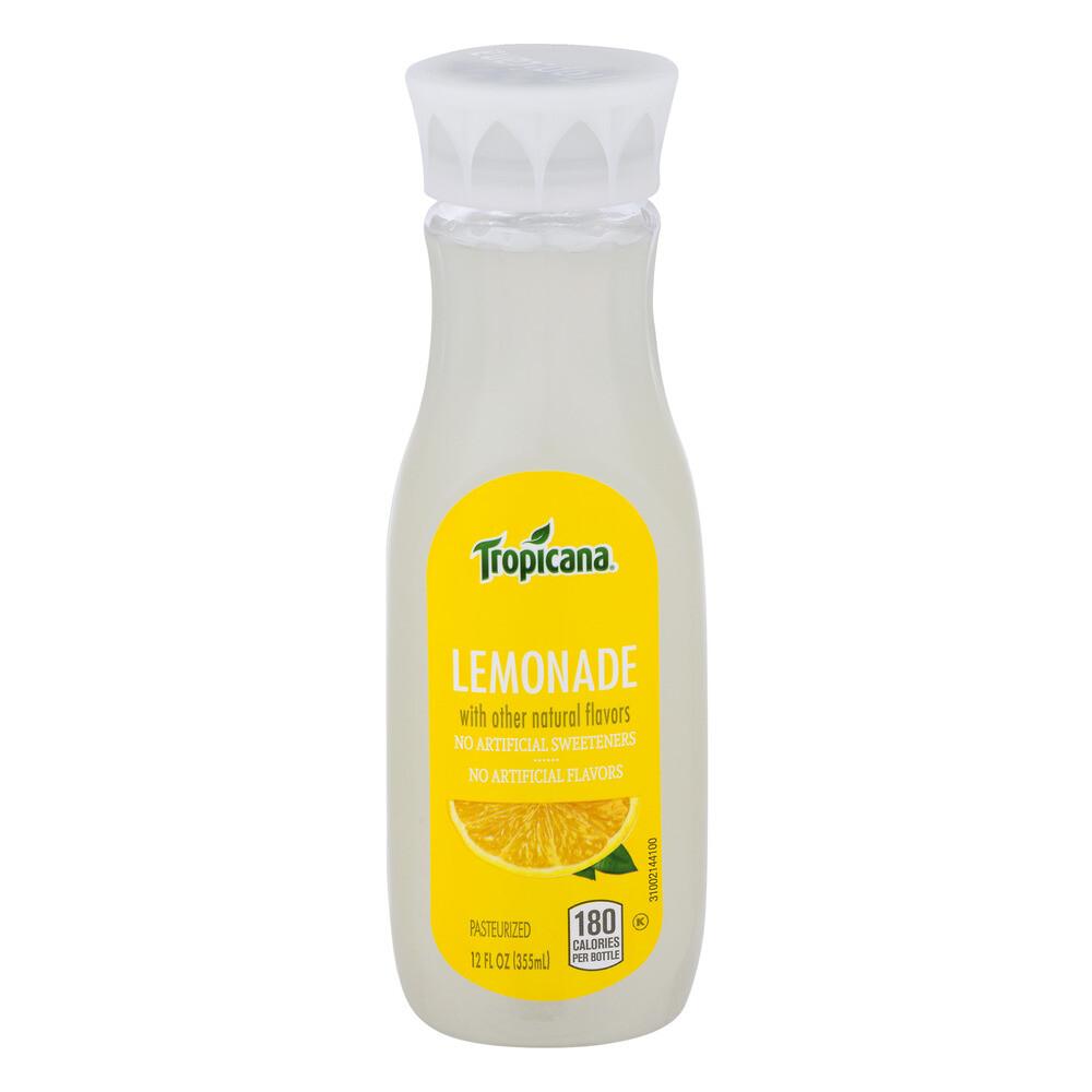 TROPICANA LEMONADE 355ml