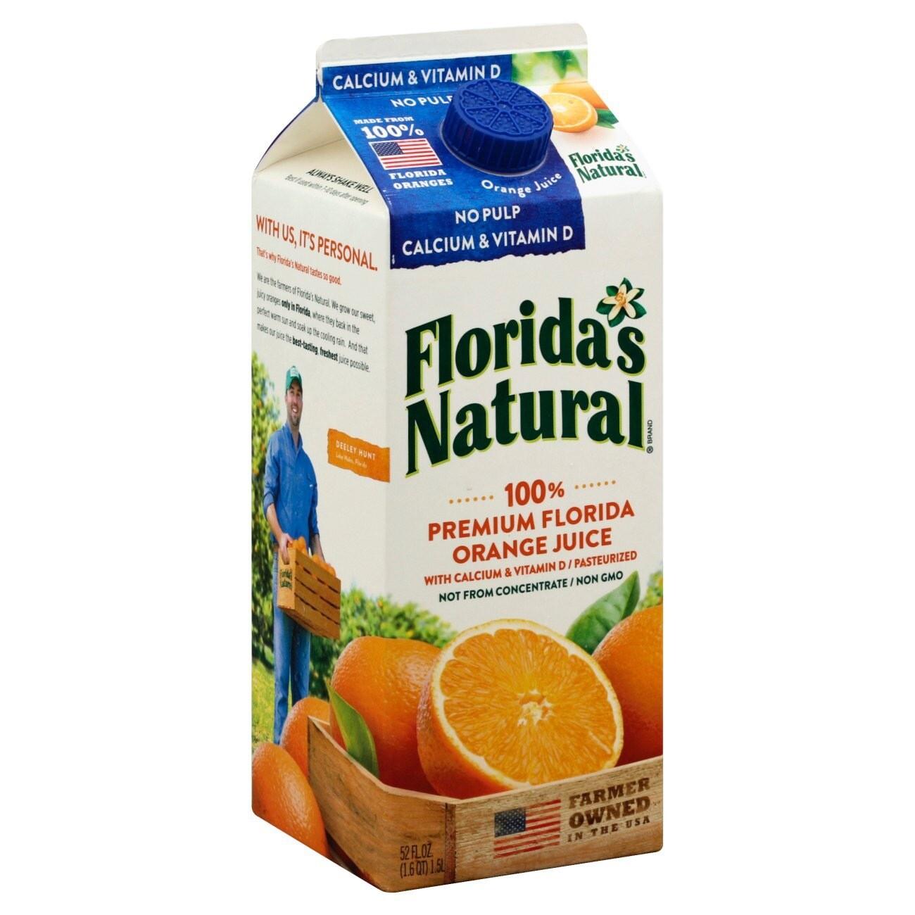 FLORIDAS NATURAL ORANGE JUICE 1.53L