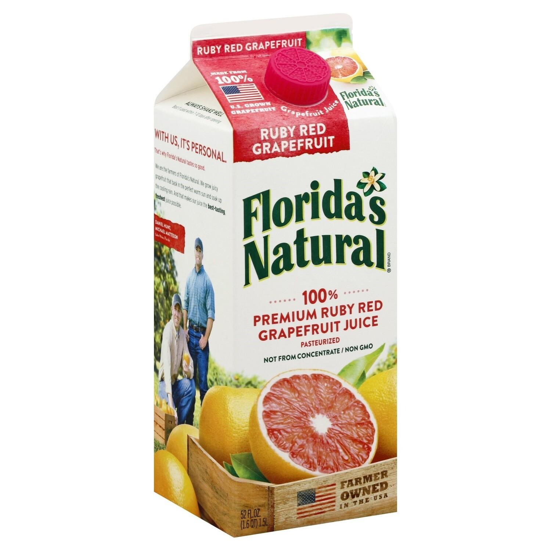 FLORIDAS NATURAL GRAPEFRUIT JUICE 1.53L