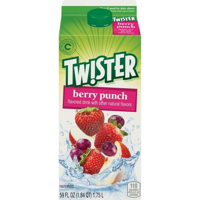 TWISTER BERRY PUNCH 1.75L