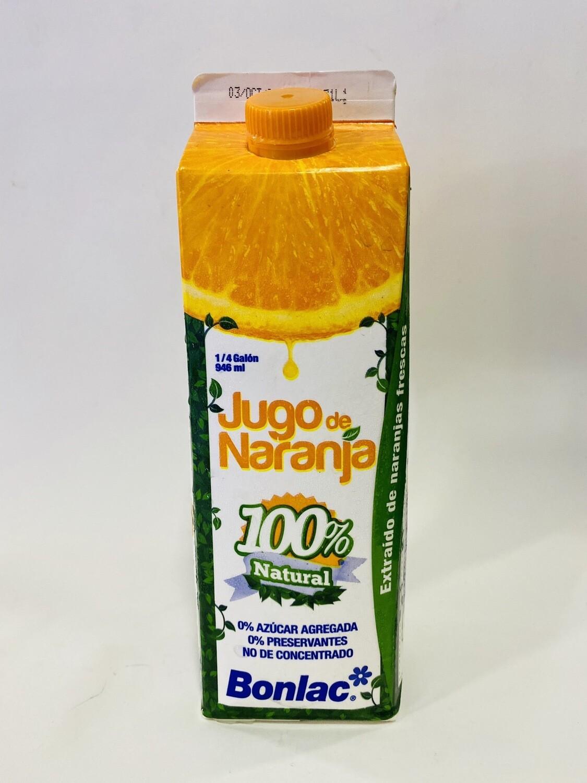 JUGO DE NARANJA BONLAC  946ml