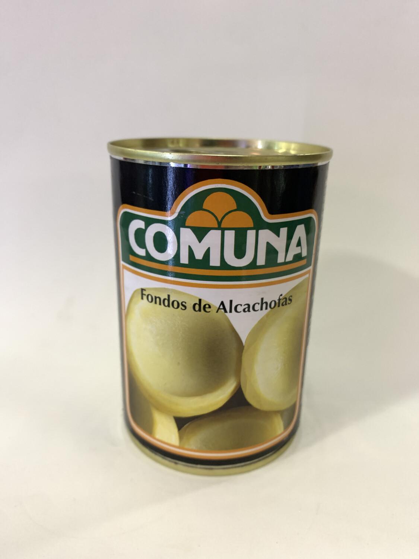 FONDOS DE ALCACHOFAS COMUNA 390g