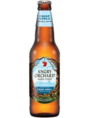 ANGRY ORCHARD HARD CIDER CRIPS APPLE Alc. 5% vol. 355ml