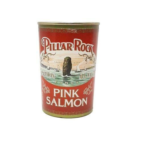 PINK SALMON PILLAR ROCK 418g