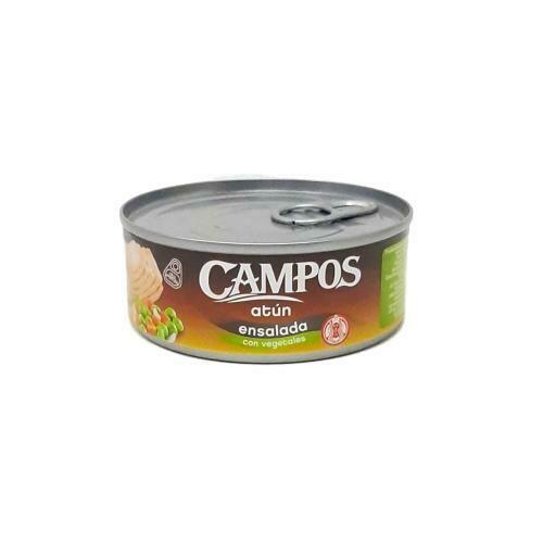 ATÚN ENSALADA CON VEGETALES CAMPOS 142g