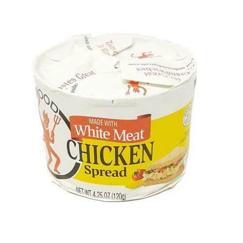 CHICKEN SPREAD WHITE MEAT UNDERWOOD 120g