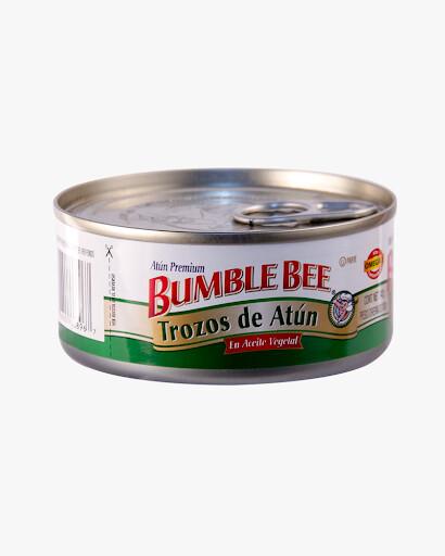 ATÚN EN TROZOS EN ACEITE VEGETAL BUMBLE BEE 142g