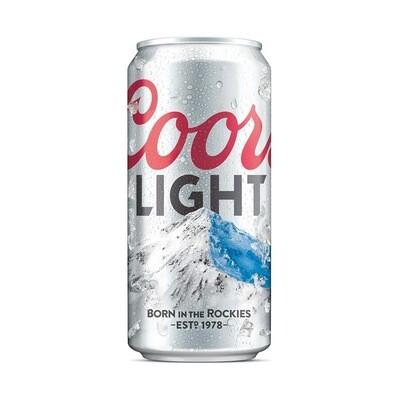 COORS LIGHT BORN IN THE ROCKIES Alc. 4.2% vol. 295ml