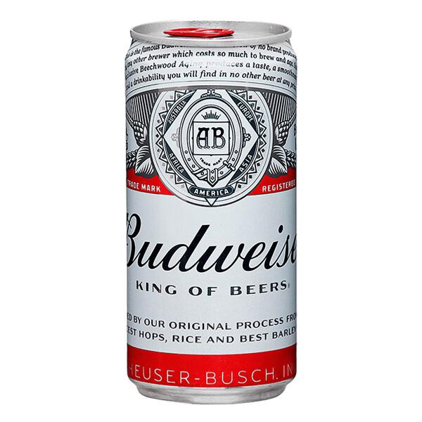 BUDWEISER KING OF BEERS Alc. 5.0% vol. 237ml