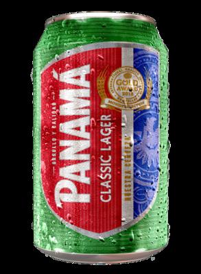 PANAMÁ CLASSIC LAGER Alc. 4.4% vol. 355ml