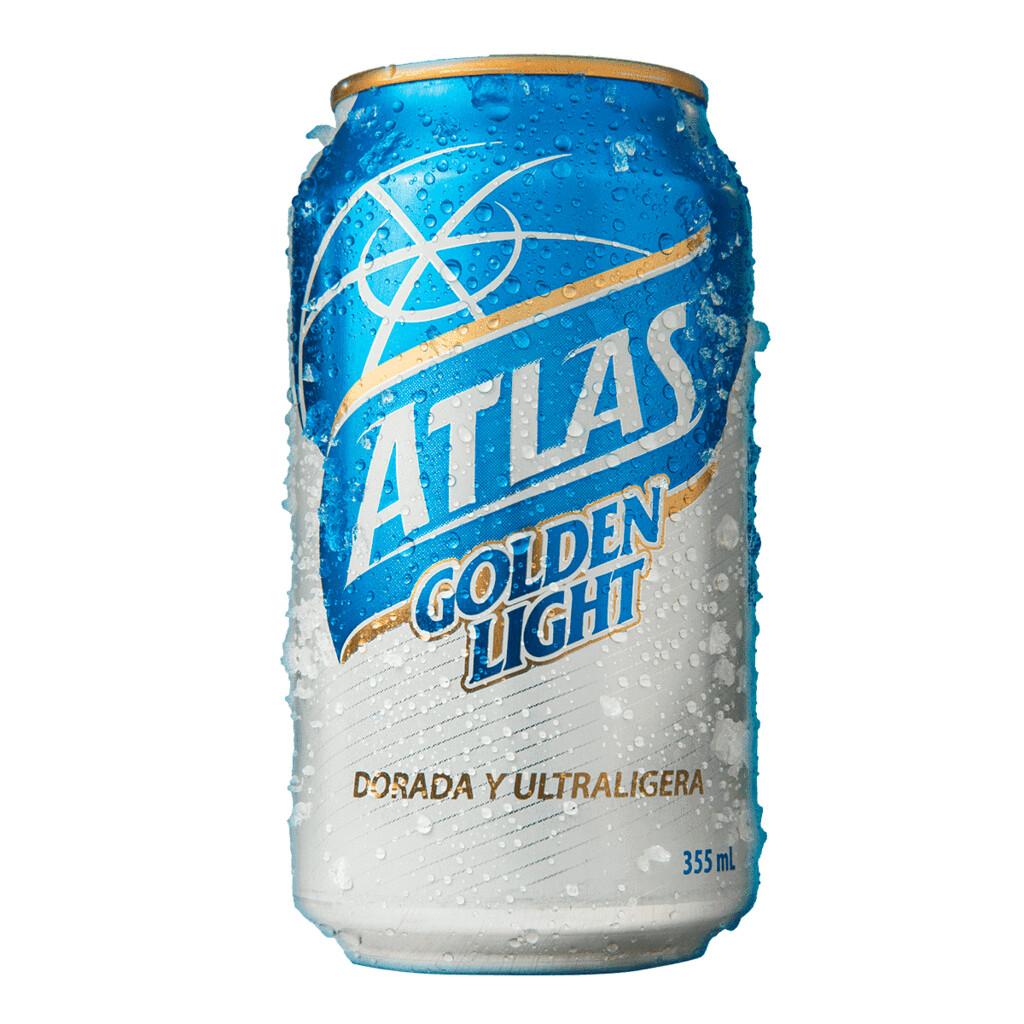 ATLAS GOLDEN LIGHT Alc. 3.4% vol. 355ml