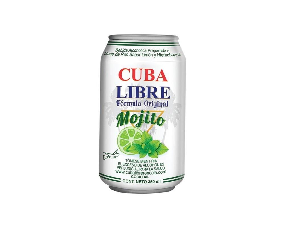 CUBA LIBRE MOJITO Alc. 8.0% vol. 350ml