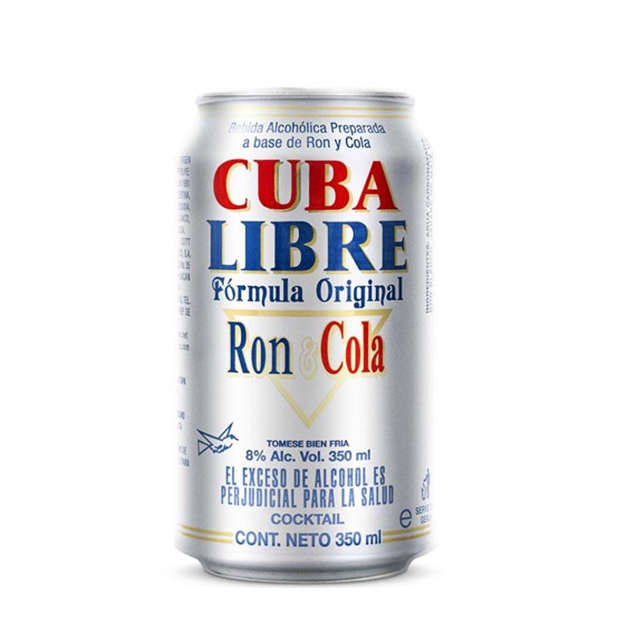 CUBA LIBRE RON Y COLA Alc. 8.0% vol. 350ml
