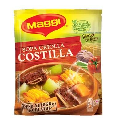 SOPA CRIOLLA COSTILLA MAGGI 58g