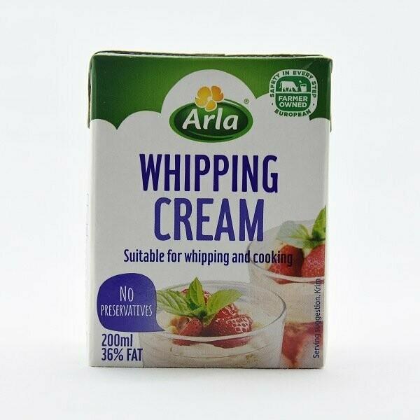 WHIPPING CREAM ARLA 200ml