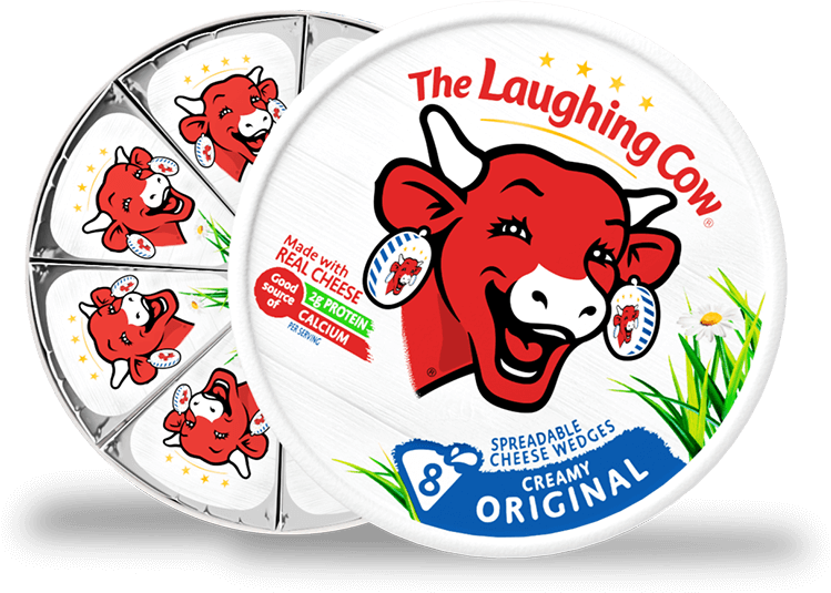 QUESO CREMA THE LAUGHING COW 8UND