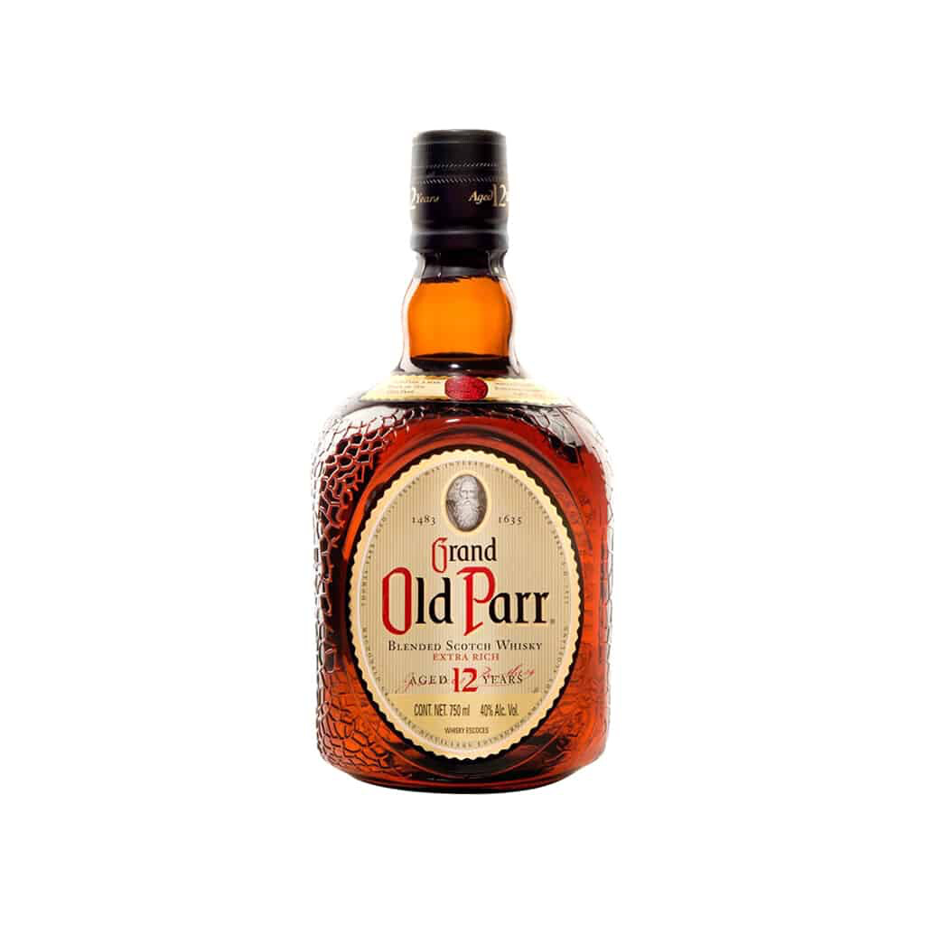 GRAND OLD PARR BLENDED SCOTH WHISKY 12 AÑOS Alc. 40% Vol. 500ml