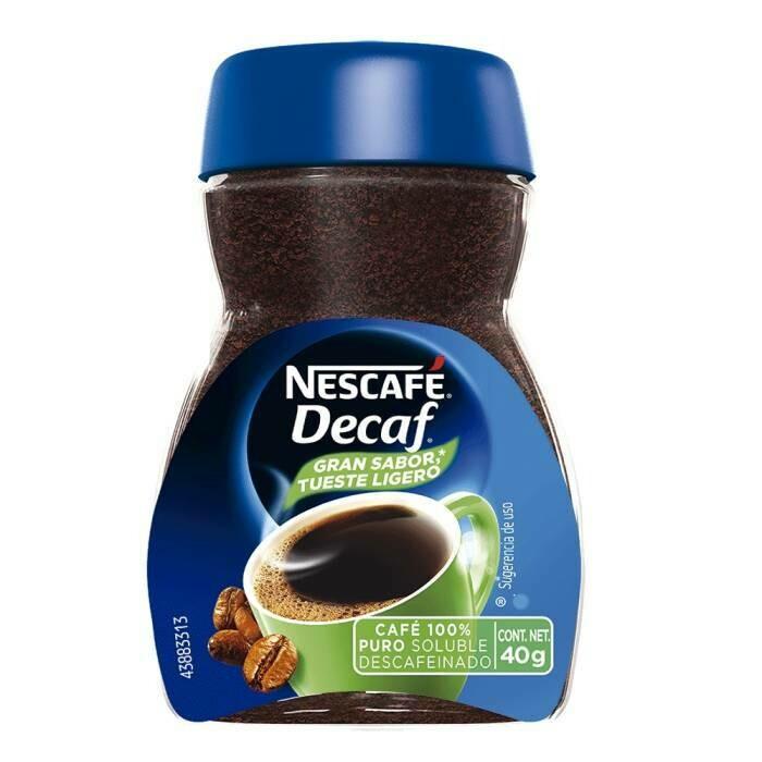 CAFÉ NESCAFÉ DECAF 40g