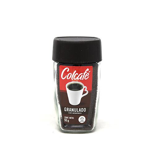 CAFÉ INSTANTÁNEO COLCAFÉ GRANULADO 50g