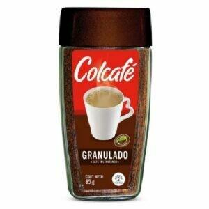 CAFÉ INSTANTÁNEO COLCAFÉ GRANULADO 85g