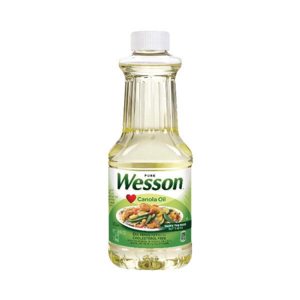 ACEITE DE CANOLA WESSON 710ml