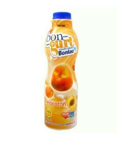 YOGURT BEBIDA BONGURT BONLAC DE MELOCOTÓN 800ml