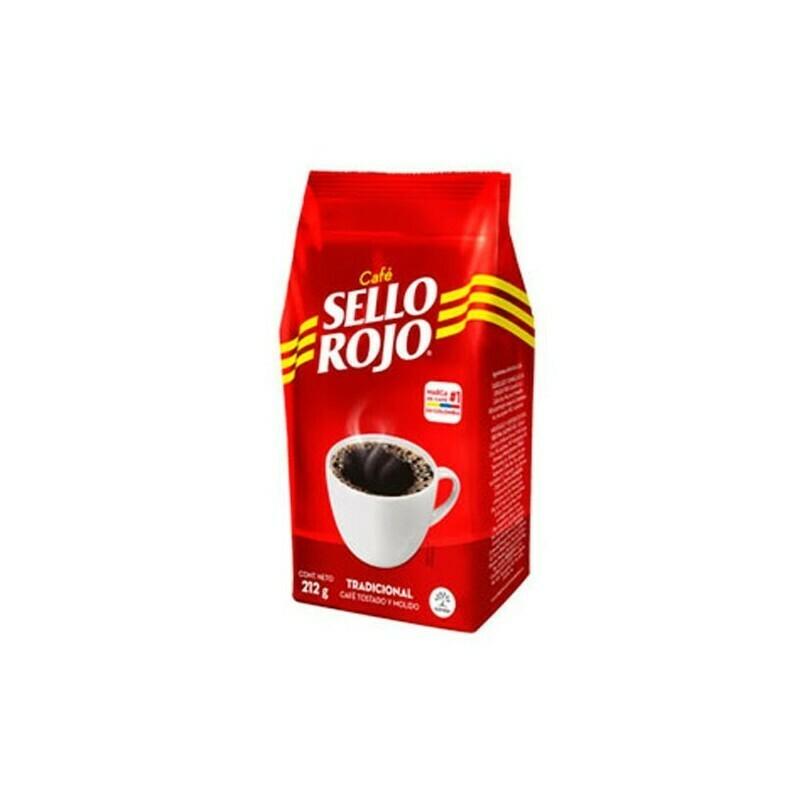 CAFE SELLO ROJO 212g