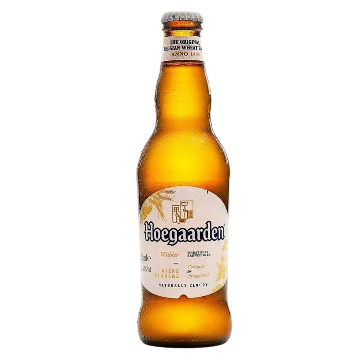 HOEGAARDEN BELGIAN WHEAT BEER Alc. 4.9% Vol. 330ml
