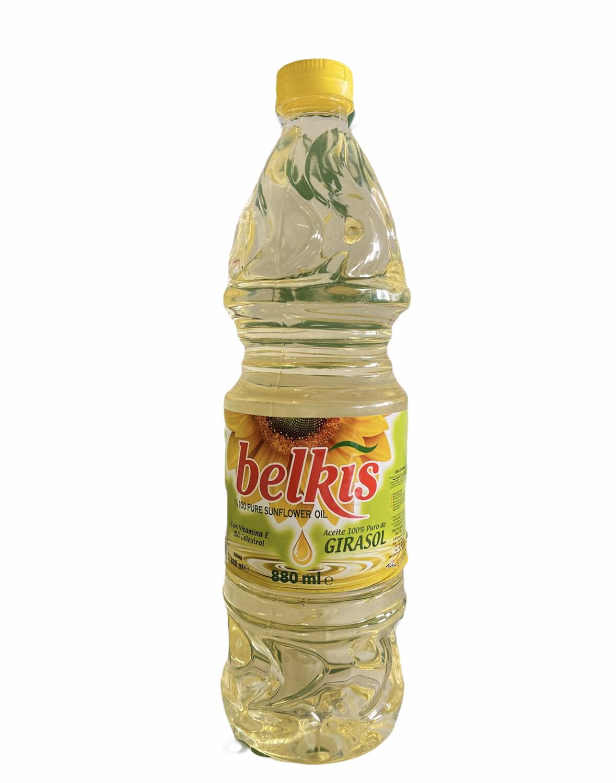 ACEITE DE GIRASOL BELKIS 880ml