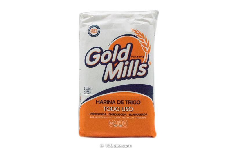 HARINA DE TRIGO TODO USO GOLD MILLS 5lb