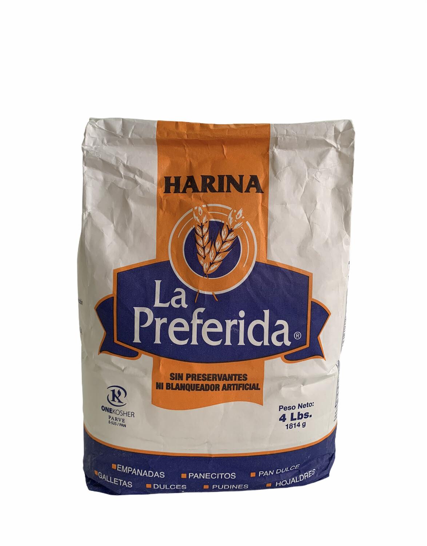 HARINA LA PREFERIDA 4lb