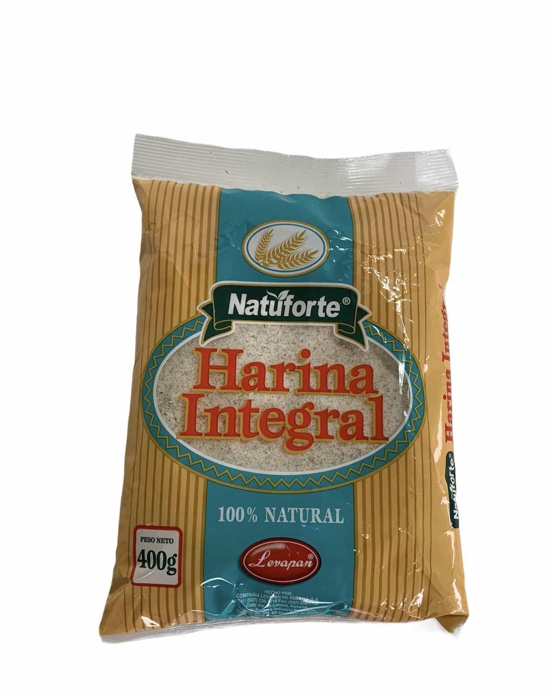 HARINA INTEGRAL NATUFORTE 400g