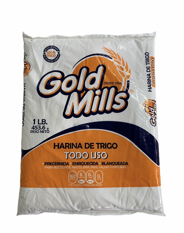 HARINA DE TRIGO TODO USO GOLD MILLS 1Lb
