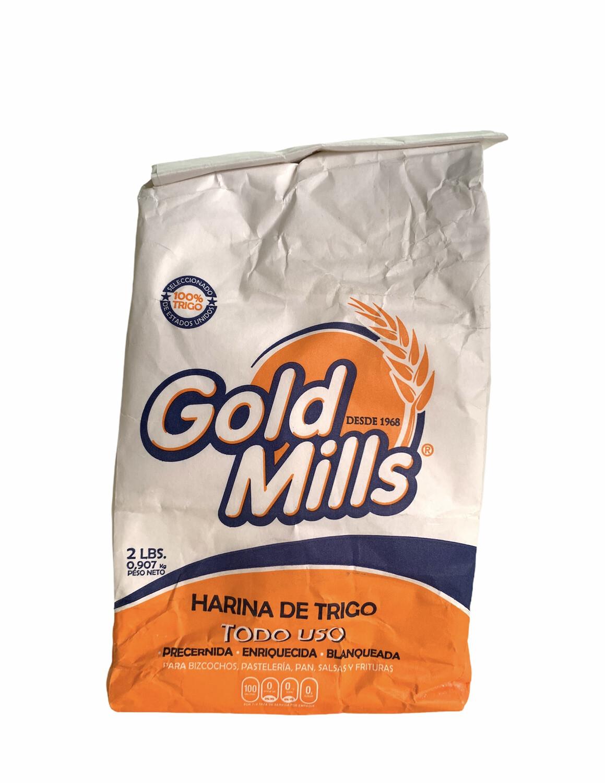 HARINA DE TRIGO TODO USO GOLD MILLS 2lb