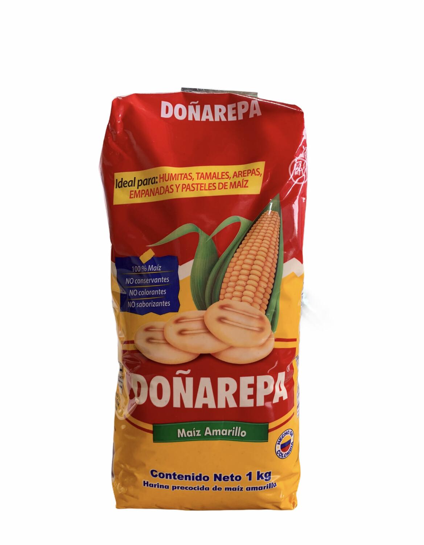 HARINA MAÍZ AMARILLO DOÑAREPA 1kg