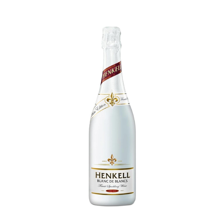 HENKELL BLANC DE BLANCS FINEST SPARKLING WINE DRY SEC Alc. 11.5% Vol. 750ml