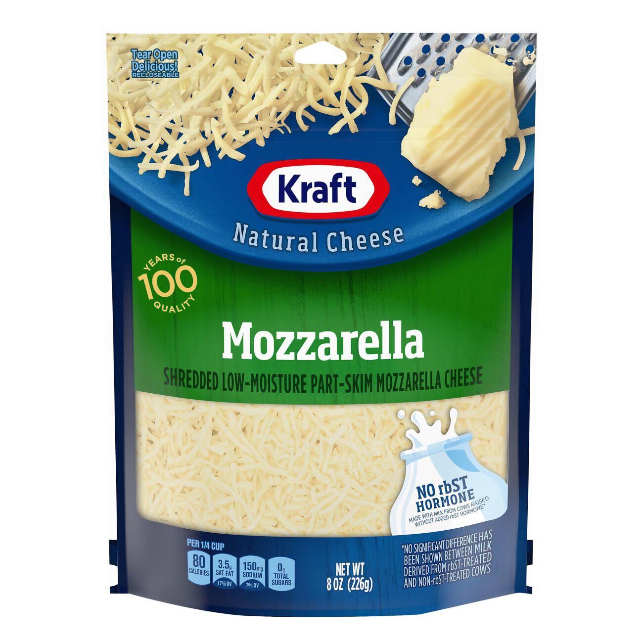 MOZZARELLA CHESSE NATURAL CHEESE KRAFT 226g