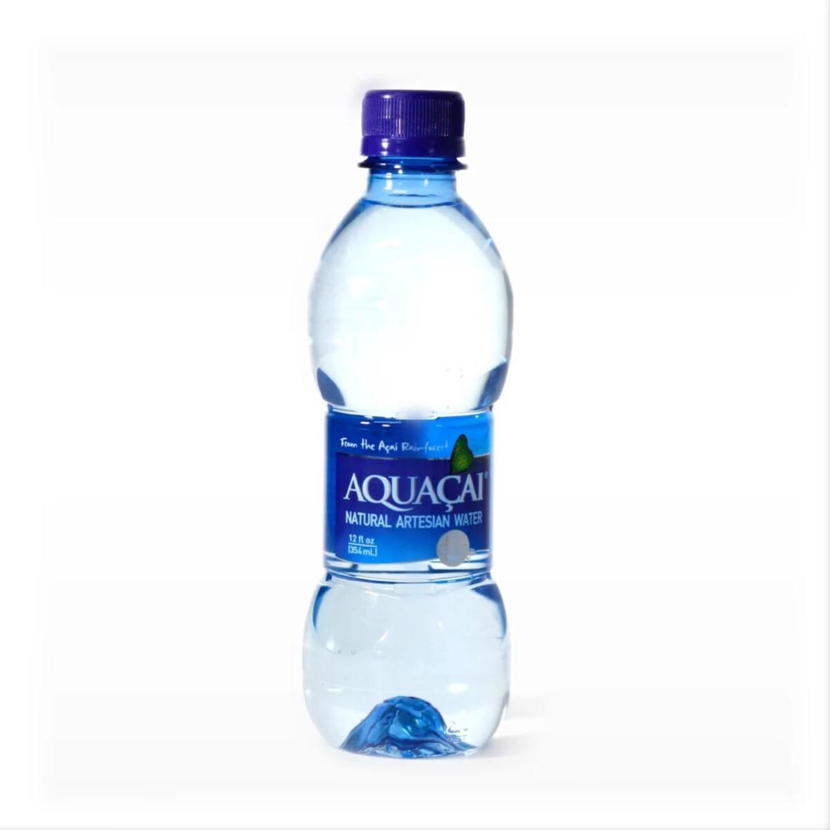 AGUA AQUACAI NATURAL ARTESIAN WATER 12oz