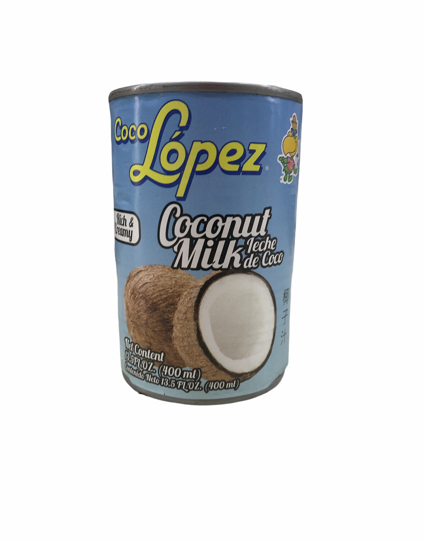 LECHE DE COCO LÓPEZ 400ml