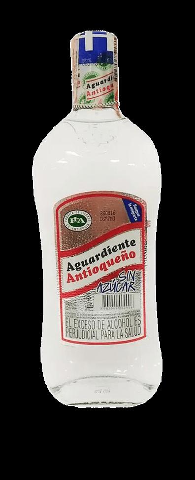 AGUARDIENTE ANTIOQUEÑO SIN AZÚCAR Alc. 29% Vol. 375ml