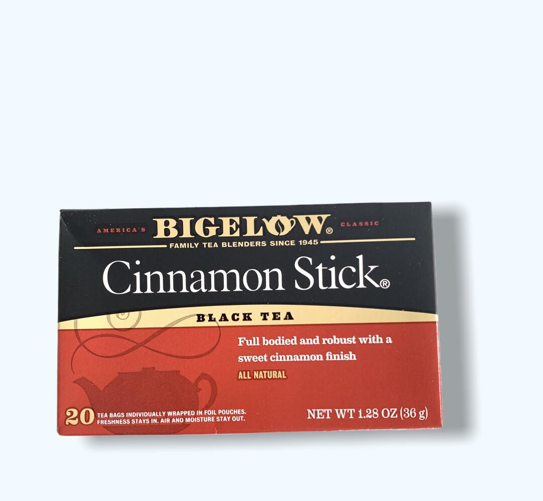 TÉ CINNAMON STICK BLACK TEA BIGELOW 20UND