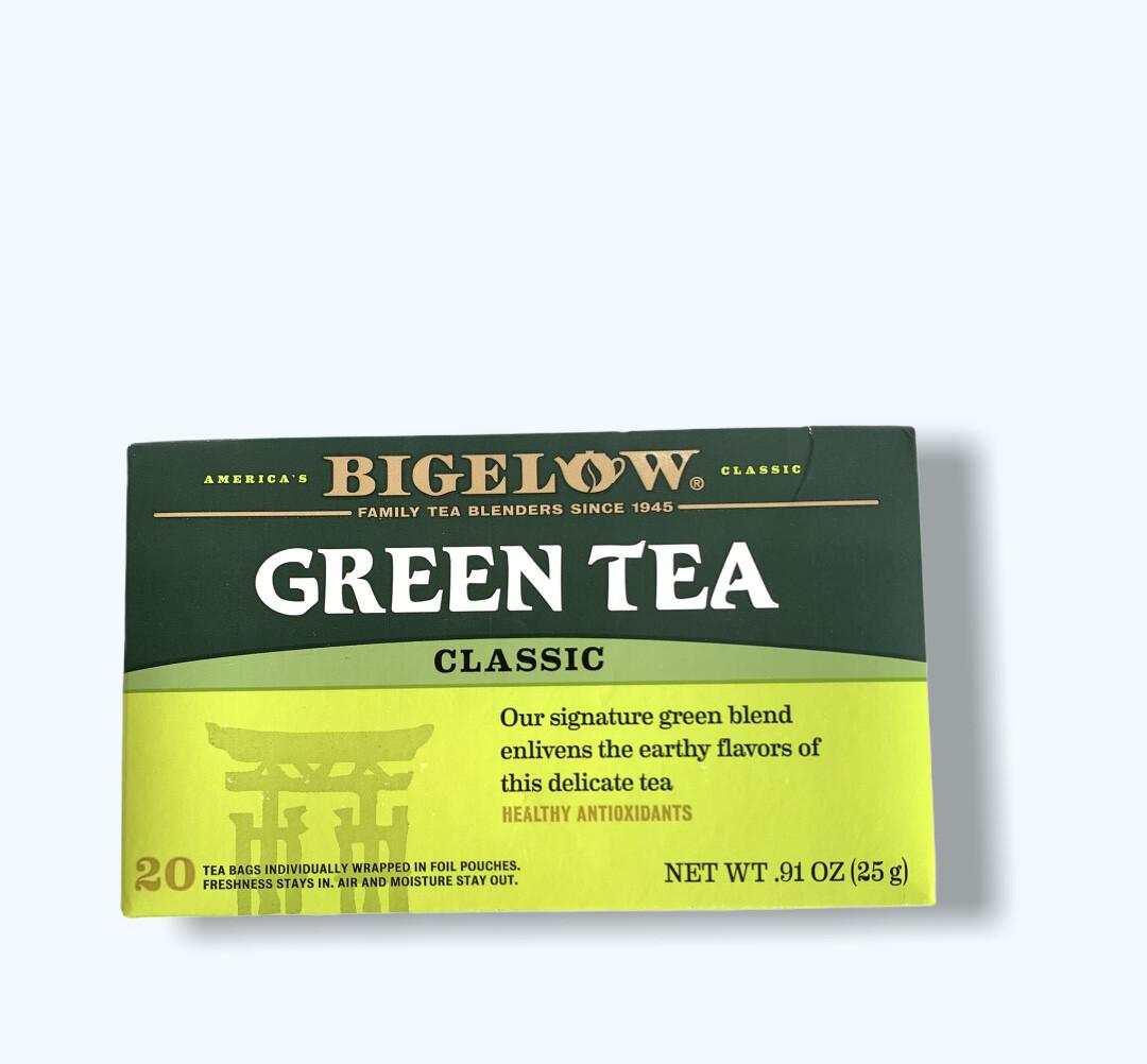 TÉ GREEN TEA CLASSIC BIGELOW 20UND