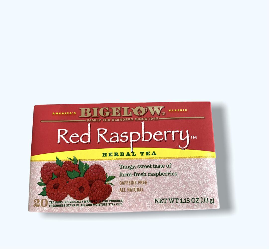 TÉ RED RASPBERRY HERMAL TEA BIGELOW 20UND