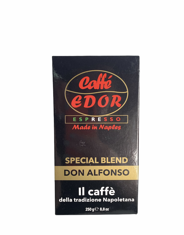 CAFÉ MOLIDO ITALIANO DON ALFONSO 250g