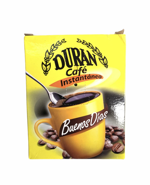 CAFÉ DURÁN INSTANTÁNEO BUENOS DÍAS 40 SOBRES